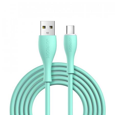 Cablu Joyroom USB - Type C 3 A 1 m verde (S-1030M8)