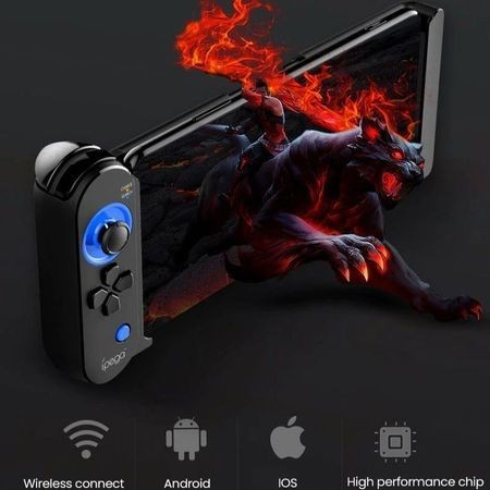Gamepad Bluetooth, Ipega, pentru smartphone si tableta 5.5-8.5 inch, joystick, compatibilitate iOS Android
