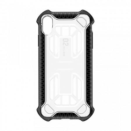Husa protectie cu gauri pentru ventilatie, Baseus Cold Front, pentru iPhone XS Max, transparent