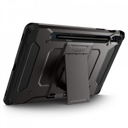 Husa tableta Spigen Tough Armor Pro pentru Samsung Galaxy Tab S7 11.0 T870/T875 Gunmetal
