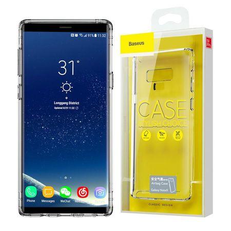 Husa telefon , Baseus Airbag antishock pentru Samsung Galaxy note 9 N960 , transparenta