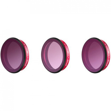 Set de 3 filtre PGYTECH Gradient pentru DJI Osmo Action (P-11B-021)