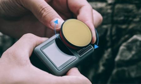 Set de 4 filtre ND PGYTECH pentru DJI Osmo Action (P-11B-019)