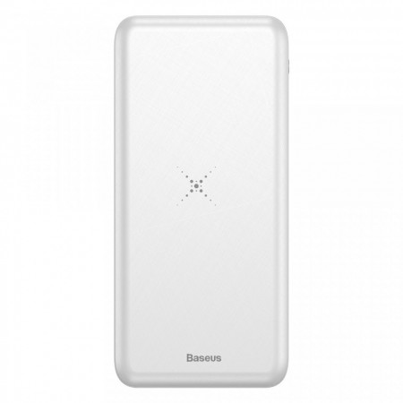 Baterie externa/Power bank Wireless , Baseus M36 QI , 10000 mAh , alba