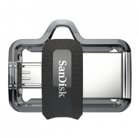 Stick de memorie SanDisk Ultra Dual Drive OTG micro-USB/USB 3.0 150 MB/s - 64 GB