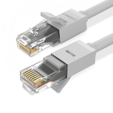 Cablu Ugreen Ethernet patchcord RJ45 Cat 6 UTP 1000Mbps 3 m white (20174 NW102)
