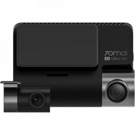 "Camera auto DVR Xiaomi 70mai A800S Dash Cam Pro Plus 4K UltraHD , IPS 3.0"", 140 FOV, ADAS, GPS, Night Vision,Wi-Fi + camera spate Xiaomi 70mai RC06 full HD la 30 fps, unghi vizualizare 130°"