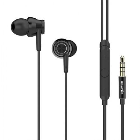 Căști audio cu microfon BlitzWolf BW-ES1 negru