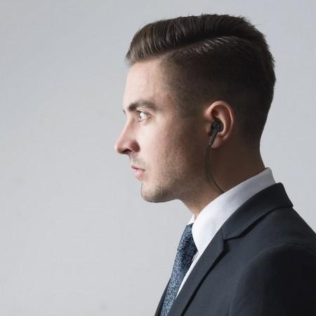 Casti audio in ear bluetooth wireless cu anularea activa a zgomotului , BlitzWolf BW-ANC1 , negru