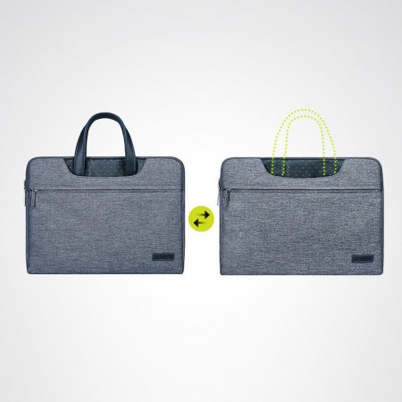 Geantă laptop Cartinoe Lamando 12 '' gri