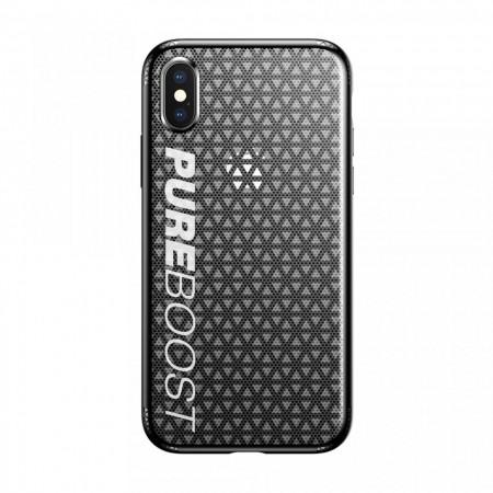 Husa protectie antisock, Baseus Parkour, pentru Apple iPhone XS / X, negru