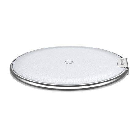 Incarcator telefon wireless, Baseus iX, argintiu