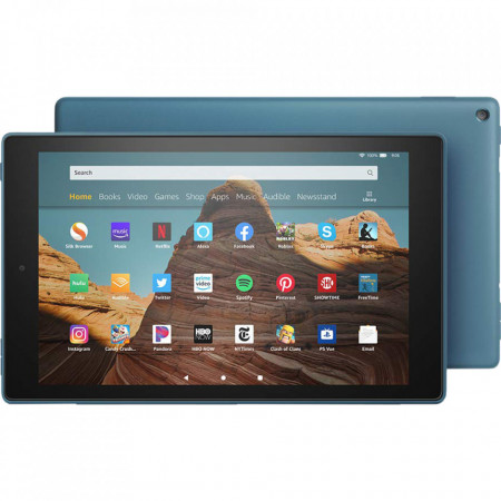 """Tableta Amazon Fire HD 10 - Afisaj Full HD 10,1 """"(1080p), 32 GB, albastru"""
