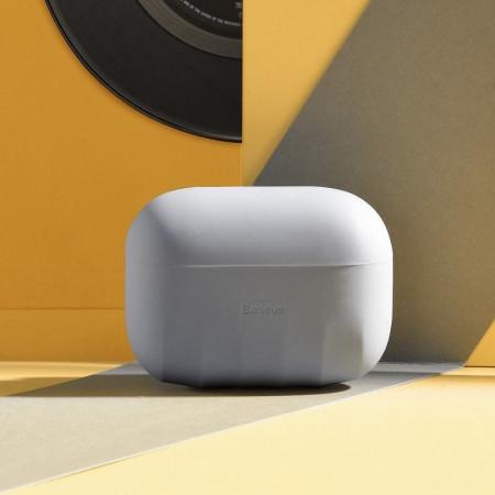 Bumper silicon Baseus AirPods Pro - Gri