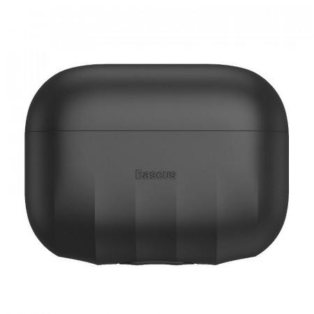 Bumper silicon Baseus AirPods Pro - Negru