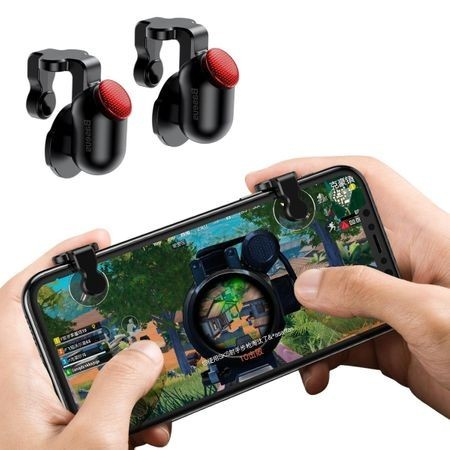 Butoane Gaming Trigger Baseus, Telefon mobil, Set 2 bucati, PUBG, Fortnite