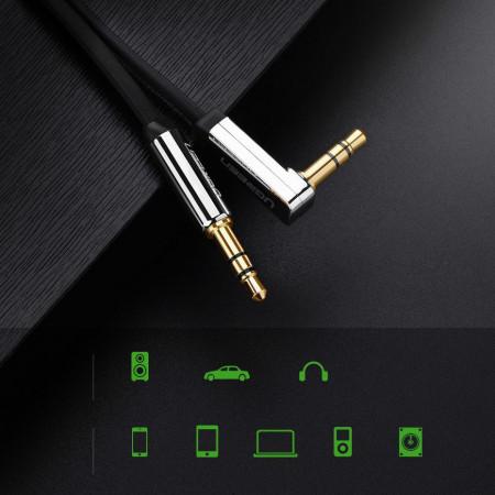 Cablu Ugreen jack-jack plat - 1m