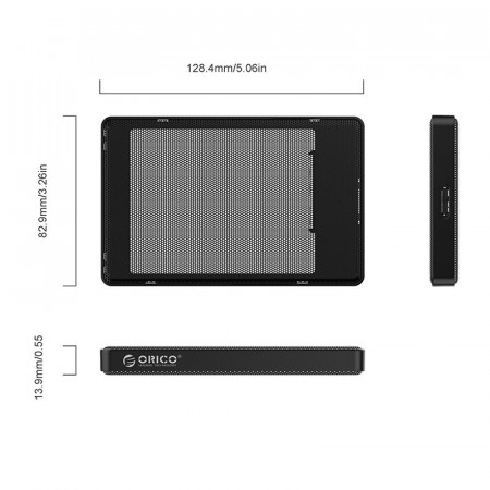 Carcasa ORICO USB3.0 ORICO 2.5inch Full Mesh HDD