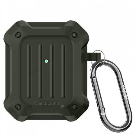 Husa Spigen Tough Armor Apple Airpods Military Green