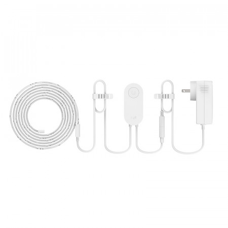 Banda LED inteligenta Xiaomi Yeelight Lightstrip Plus (2 m) YLDD04YL , compatibil Apple Home Kit / Amazon Alexa / Google Assistant