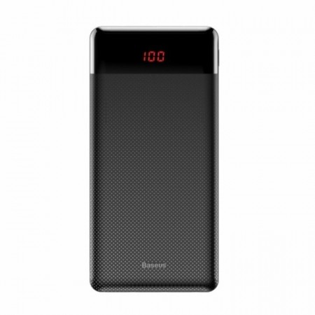 Baterie externa Baseus mini 2 x USB 2.1A , 10000 mAh , negru