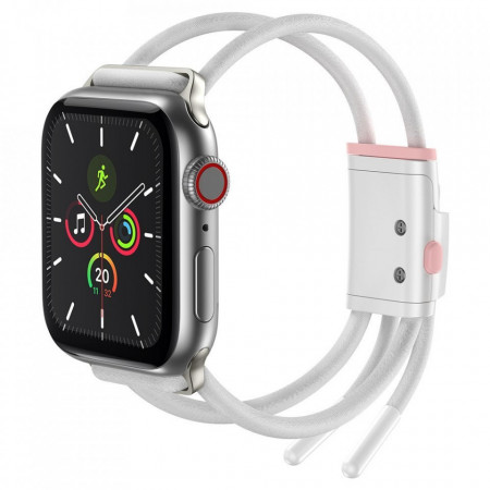 Bratara Baseus Apple Watch 42mm / 44mm - alb