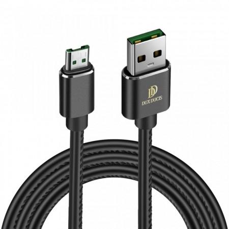 Cablu de date Dux Ducis K-Max , Usb la Micro-USB, 5V , 4A , 1M , negru