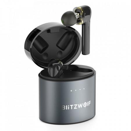 Căști wireless Blitzwolf TWS - BW-FYE8 - negru