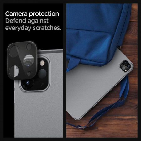 Folie de protectie pentru camera Spigen iPad Pro 11/12.9 2020 - negru
