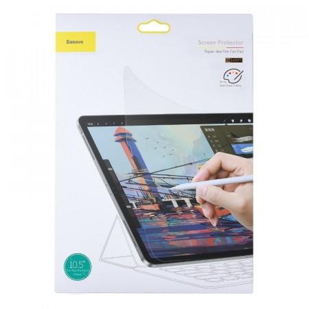 Folie protectie mata ce imita hartia, Baseus , 0,15 mm pentru 2018 iPad Pro 11 inch Transparent