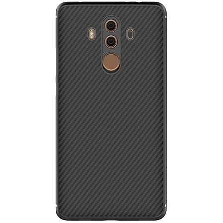 Husa carcasa spate Nillkin Synthetic Fiber pentru Huawei Mate 10 Pro, negru