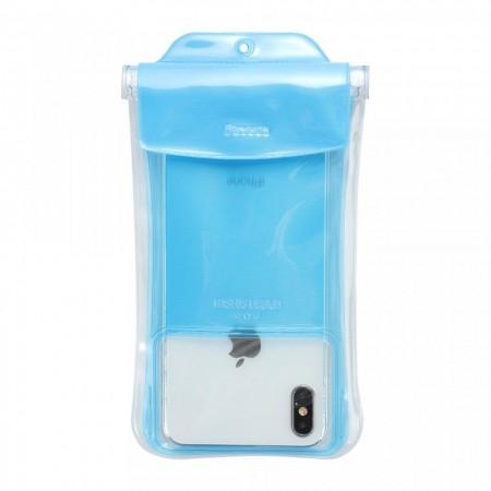 Husa protectoare telefon Baseus Safe Airbag Waterproof , albastra