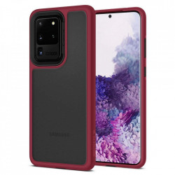Husa Spigen Ciel Color Brick Samsung Galaxy S20 Ultra - rosu