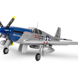 """Aeromodel FMS P-51B Mustang """"SS"""" V8 1450mm ARF"""