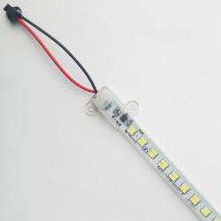 Banda LED rigida 8W, 560Lm, 600x14 mm, 6400k, IP65, 5730