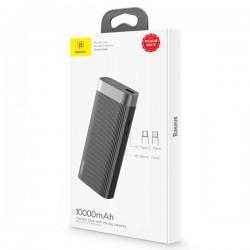 Baterie externa/Power bank , Baseus Parallel Line , 10000 mAh , USB + USB-C + micro USB , negru