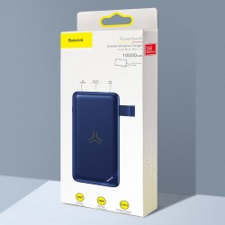 Baterie externa/Power bank cu incarcare Wireless 10W Baseus S10, 10000mAh 18W