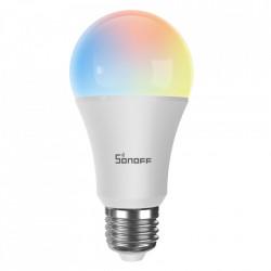 Bec inteligent cu LED Sonoff B05-B-A60, RGB, Putere 9W, 806 LM, Control aplicatie eWelink