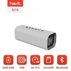 Boxa portabila, bluetooth Havit M16 - gri