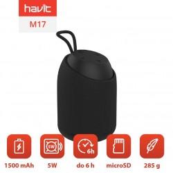 Boxa portabila Bluetooth Havit M17 (negru)
