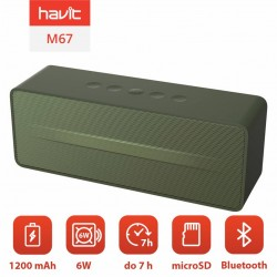 Boxa portabila Bluetooth Havit M67 (verde)