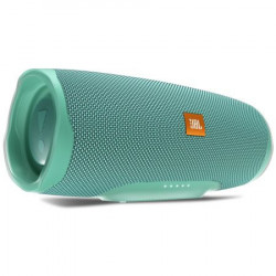 Boxa portabila JBL CHARGE4, BASS Radiator, Bluetooth, Connect+, USB, Powerbank 7500mAh, Rezistenta la apa IPX7, Turcoaz