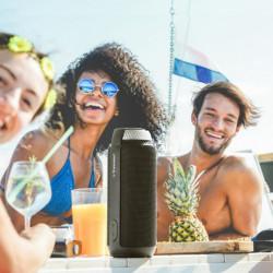 Boxa portabila wireless Bluetooth 4.1 Tronsmart T6 25W negru (235567)