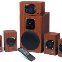 BOXE 5.1 GENIUS SW-HF5.1 4500 II Wood