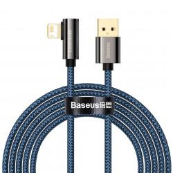 Cable USB la Lightning Baseus Legend Series, 2.4A, 2m (blue)