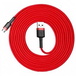 Cablu de date , Baseus Cafule USB / micro USB 2A 3M red (CAMKLF-H09)