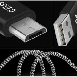 Cablu de date Dux Ducis USB la micro-USB 2.1A - 3m