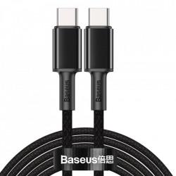 Cablu telefon, Baseus USB Type C - USB Type C , Power Delivery Quick Charge 100 W 5 A 2 m black