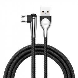 Cablu USB Baseus Sharp Bird Micro USB 1.5A 2m (negru)