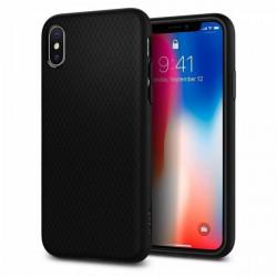 Carcasa iPhone X, iPhone 10 Spigen Liquid Air - Black